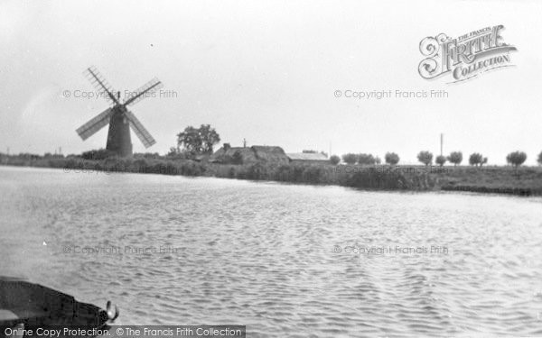 Photo of The Broads, A Windmill c.1950