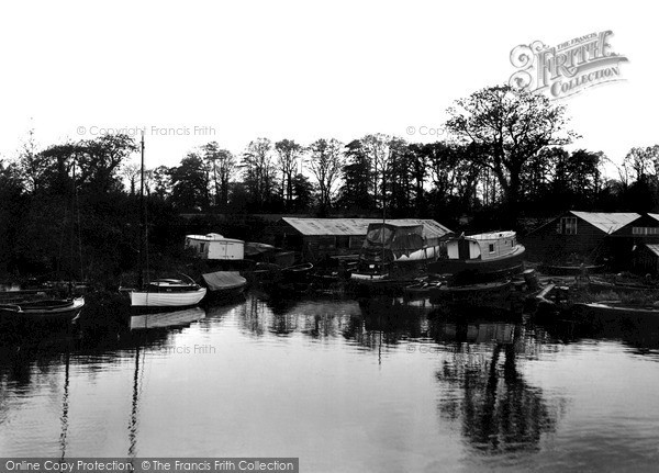 Photo of The Broads, Barton Staithe c1931