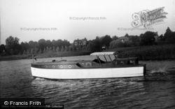 The Broads, 'blue Eagle' c.1933, The Norfolk Broads