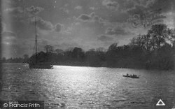 The Broads, Boat Returns At Evening c.1939