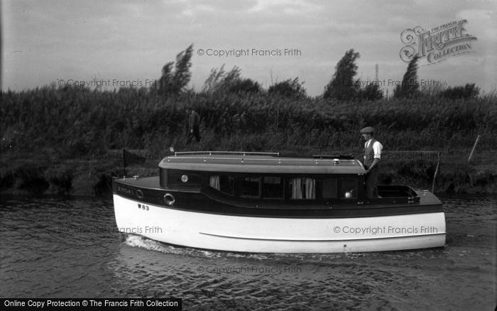 Photo of The Broads, Cirrus II, Johnson's Boats c.1933