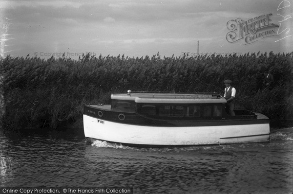Photo of The Broads, Cirrus, Johnson's Boats c.1933