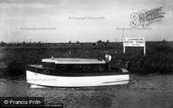 The Broads, Cirrus, Johnson's Boats c.1933, The Norfolk Broads