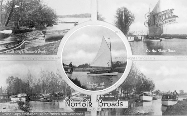 Photo of The Broads, Composite c.1935
