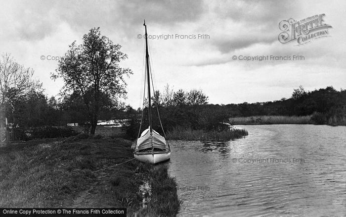 Photo of The Broads, Fleet Dyke, Near St Benet's c.1931