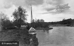 The Broads, Fleet Dyke, Near St Benet's c.1931
