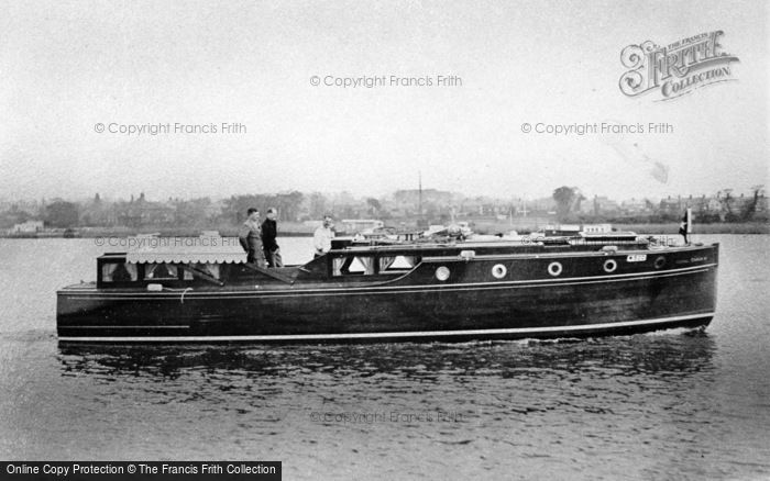 Photo of The Broads, Flying Eagle c.1930