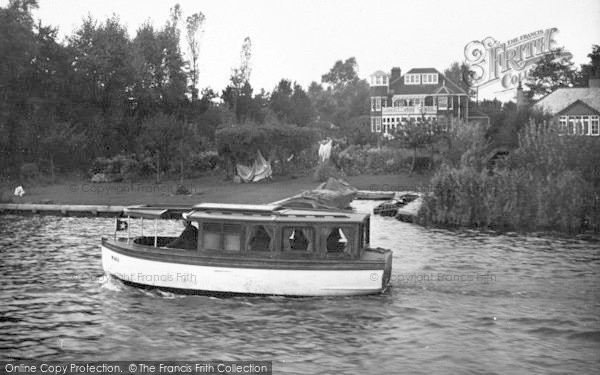Photo of The Broads, 'gaiety' c.1933