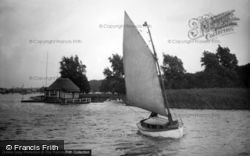 The Broads, 'halcyon' c.1933, The Norfolk Broads