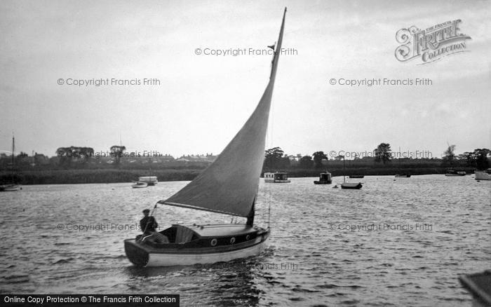 Photo of The Broads, 'halcyon' c.1933