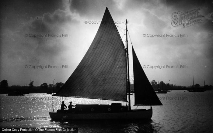 Photo of The Broads, Happy Days c.1933