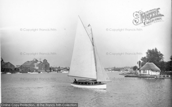 Photo of The Broads, 'happy Times' c.1933