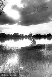 The Broads, Home At Evening c.1900