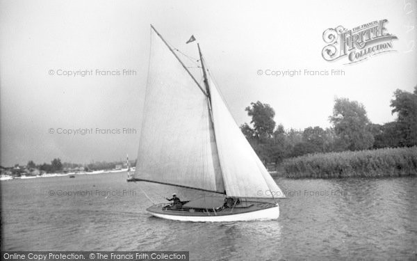 Photo of The Broads, 'joy' c.1933