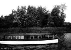 "The Broads, ""Lavengro"" c.1933, The Norfolk Broads"