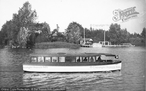 Photo of The Broads, 'lavengro' c.1933