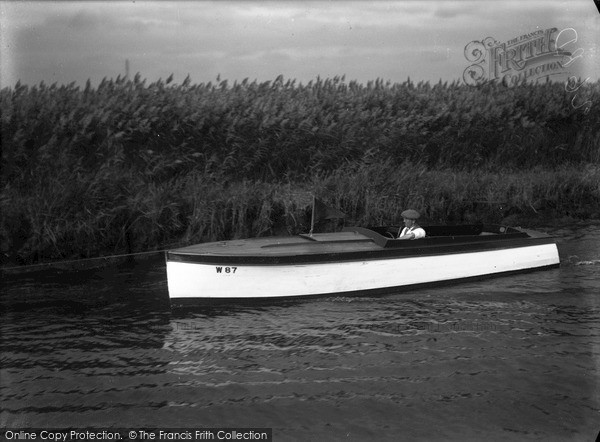 Photo of The Broads, Loneday, Johnson's Boats c.1933