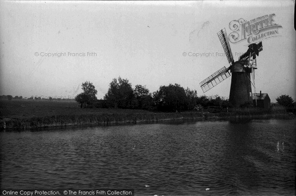 The Broads,Mill on the Ant c1955,Norfolk