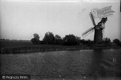 The Broads, Mill On The Ant c.1933, The Norfolk Broads