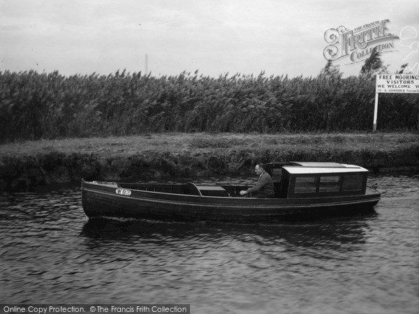 Photo of The Broads, Moya, Johnson's Boats c.1933