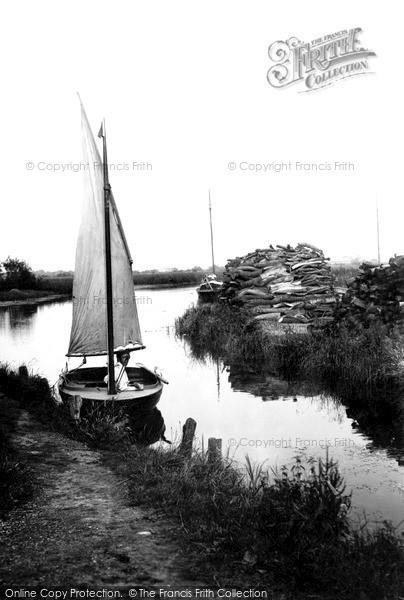 Photo of The Broads, Near Barton Staithe c.1931