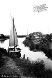The Broads, Near Barton Staithe c.1931