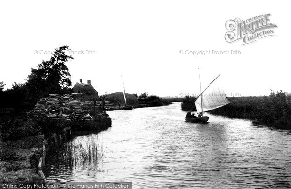 The Broads, On The Ant c.1931
