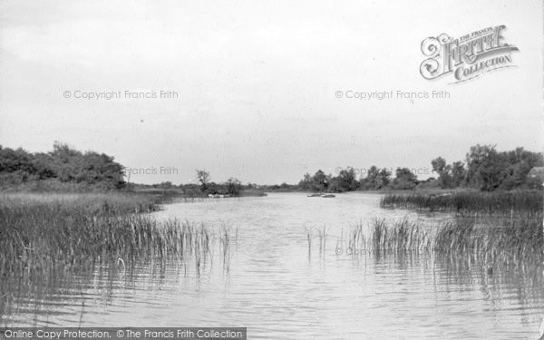 Photo of The Broads, Ormesby Broad c.1933