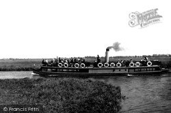 The Broads, Queen Of The Broads At St Benet's c.1930