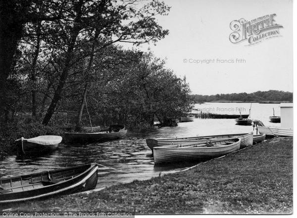 The Broads, Ranworth Broad c.1945