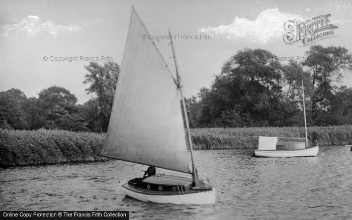 Photo of The Broads, Ripplet c.1930