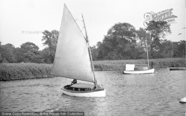 Photo of The Broads, 'ripplet' c.1933