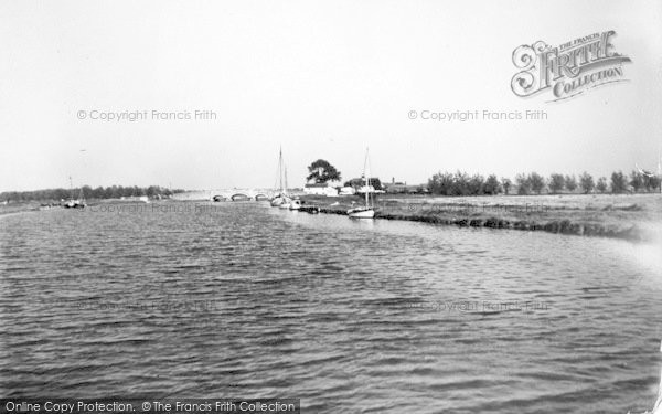 Photo of The Broads, River Bure c.1939