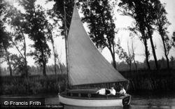 The Broads, Roamer c.1930, The Norfolk Broads
