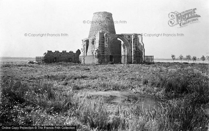 Photo of The Broads, St Benet's Abbey c.1931
