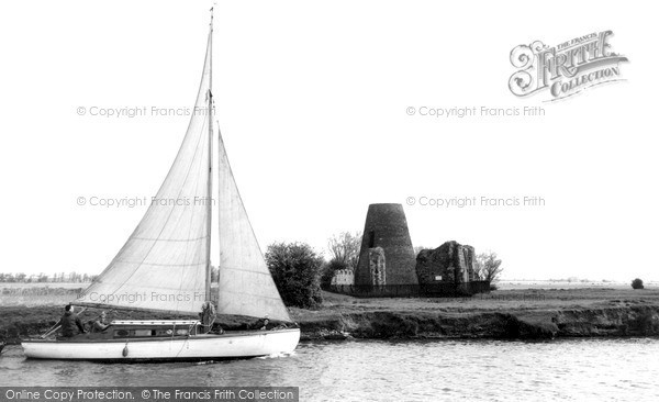 Photo of The Broads, St Benet's Abbey c.1950