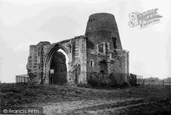 The Broads, St Benet's Abbey Ruins c.1931