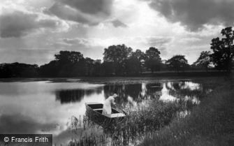 The Broads, the Evening Ferry c1900