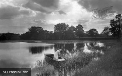 The Broads, The Evening Ferry c.1900, The Norfolk Broads