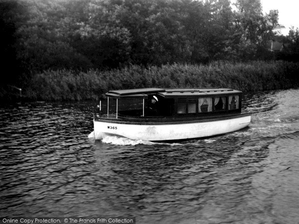 Photo of The Broads, The 'melody' c.1933