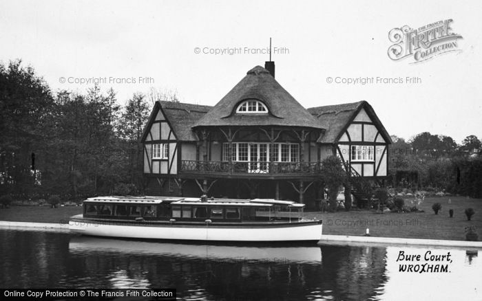 Photo of The Broads, The Rangoon At Bure Court 1930