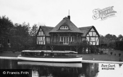 The Broads, The Rangoon At Bure Court 1930
