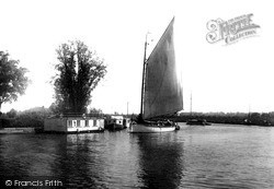 The Broads, The River Bure Near Caister Camp c.1931, The Norfolk Broads