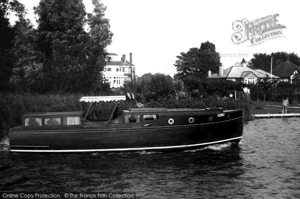 Photo of The Broads, The 'silver Swallow' c.1933