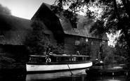 The Broads, the Staithe, Geldeston c1935
