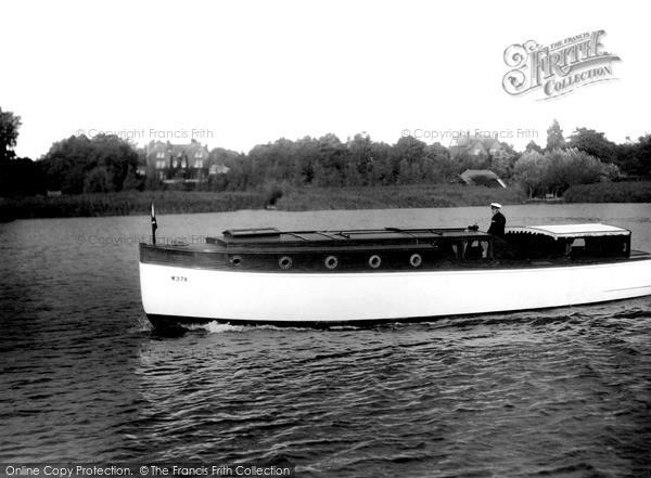 Photo of The Broads, The 'white Eagle' c.1932