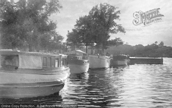 Photo of The Broads, Twilight On The Broads c.1932