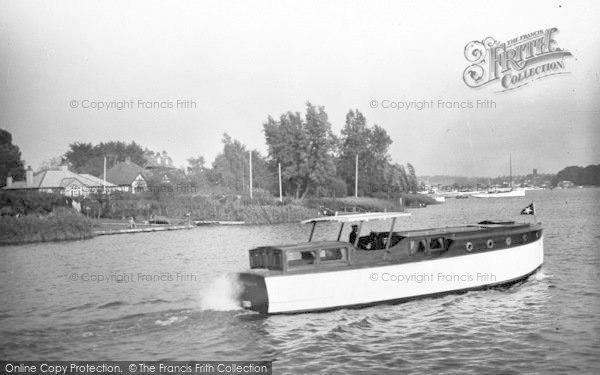 Photo of The Broads, 'white Eagle' c.1933