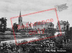 Jozef Israels Rosarium And Sint-Paschalis Baylonkerk c.1925, The Hague