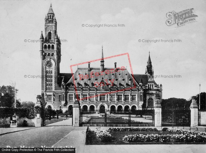 Photo of The Hague, Peace Palace c.1930
